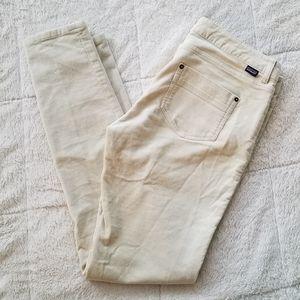 Patagonia Corduroy Womens Pants Size 30 Ivory